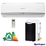 Ar Condicionado Split Hi-Wall Springer com 9.000 BTUs, Frio Turbo Mode Branco - 42FNCA09S5/38KCK09S5